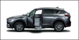 MAZDA CX-5 FRONT SEAT ACCESSIBLE VEHICLE: LIFTUP TYPE