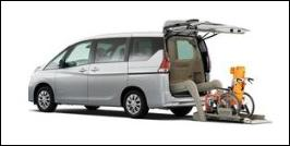 NISSAN SERENA WHEELCHAIR LIFTUP