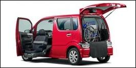 SUZUKI WAGON R STINGRAY FRONT SEAT ACCESSIBLE VEHICLE: LIFTUP TYPE